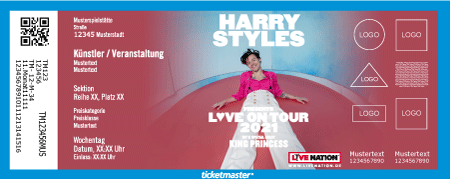 tickets für harry styles tour