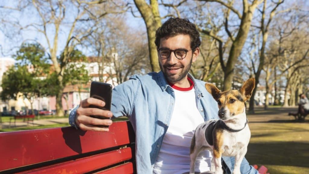 Bessere Flirtchancen dank Hund?
