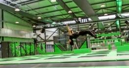 Trampolin springen statt Gewichte stemmen
