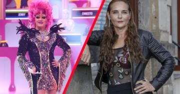 Olivia Jones reizt Helena Fürst bei den Festspiele der Reality Stars