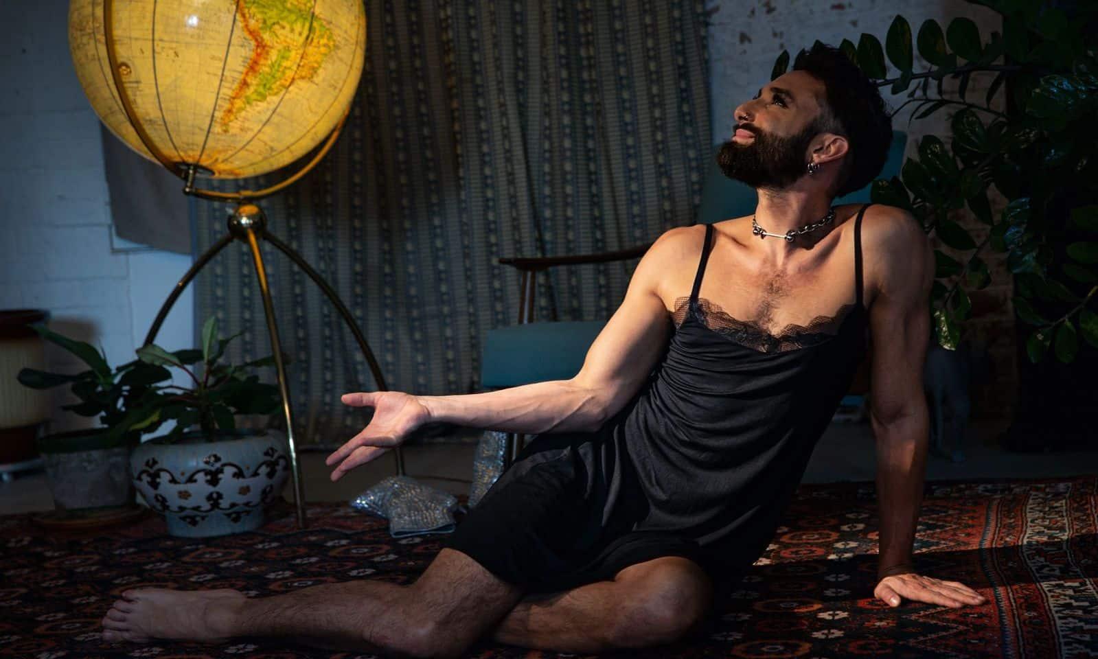 Tom Neuwirth aka Conchita Wurst als neues Dessous Model