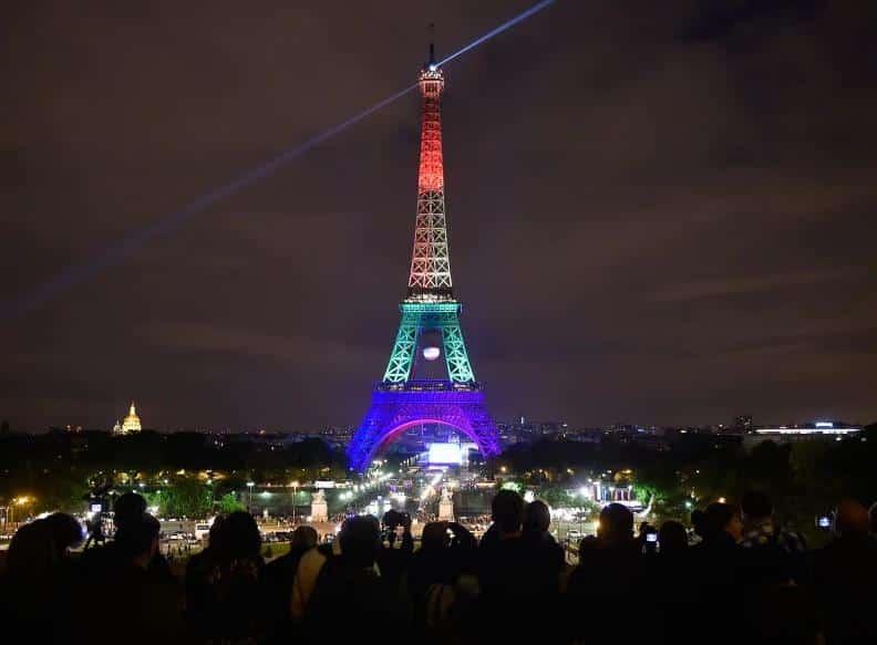 Frankreich führt einen Kampf gegen die Homophobie