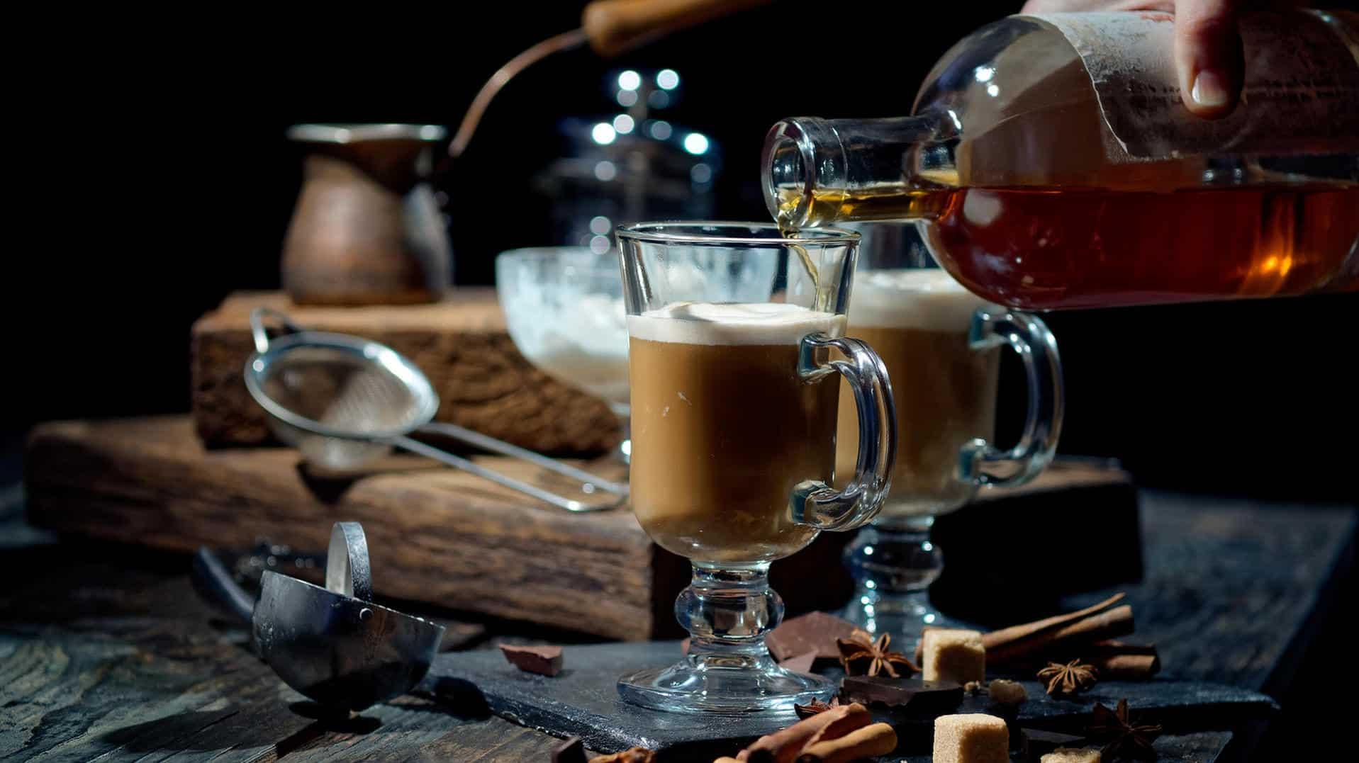 Kaffeeidee Nr. 2 Kaffee mit Alkohol