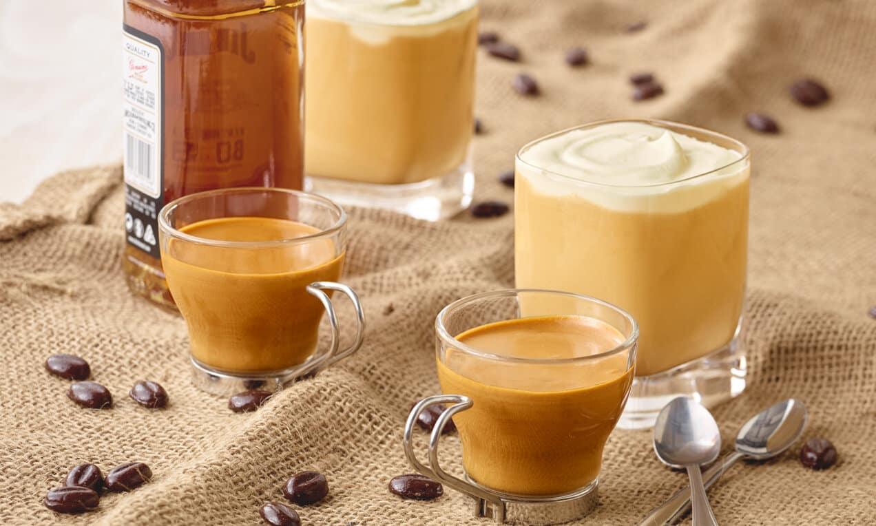 Kaffeeidee Nr. 3 Kaffee mit verschiedenen Cremevarianten