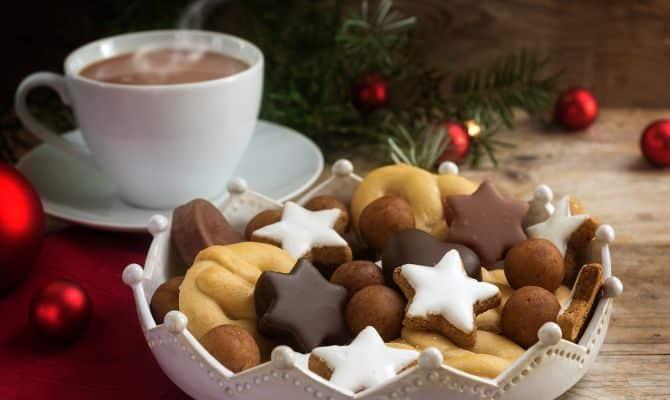 Kaffeeidee Nr. 4 Kaffee mit Weihnachtsgebäck