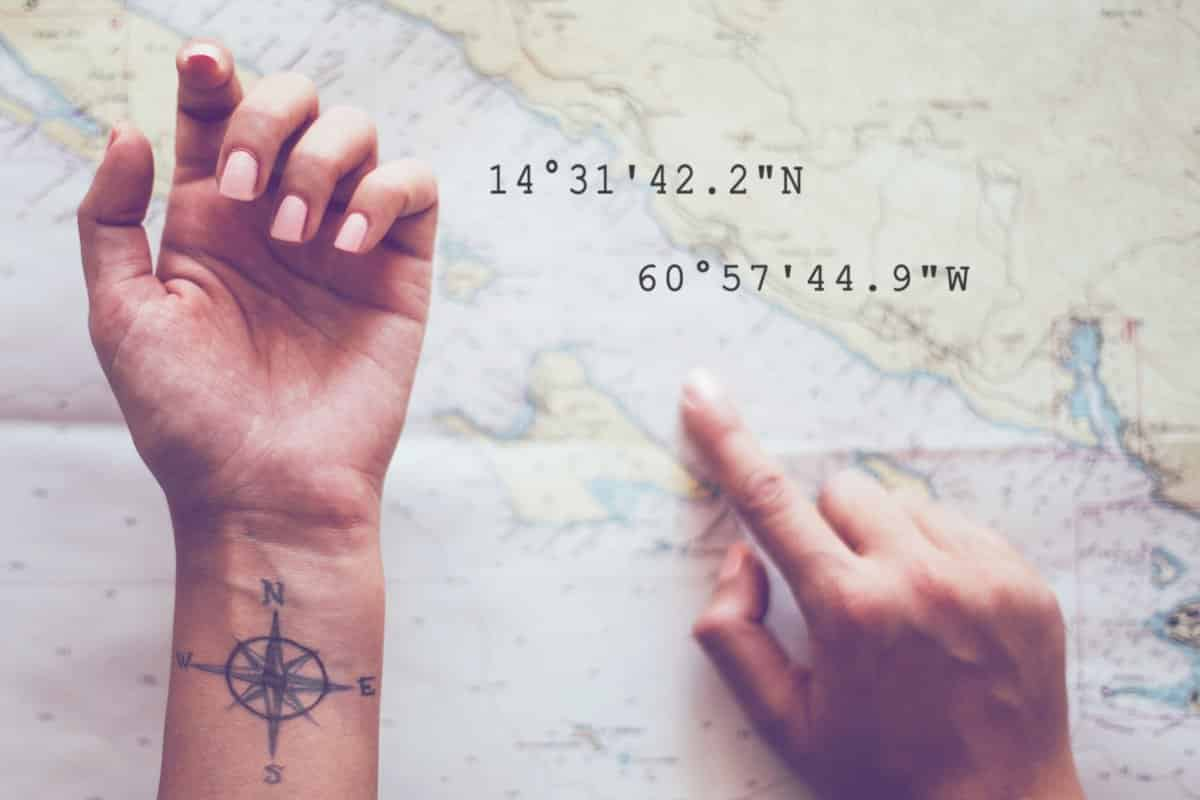 Tattootrend Nr. 5 der Name des Partners und andere individuelle Details
