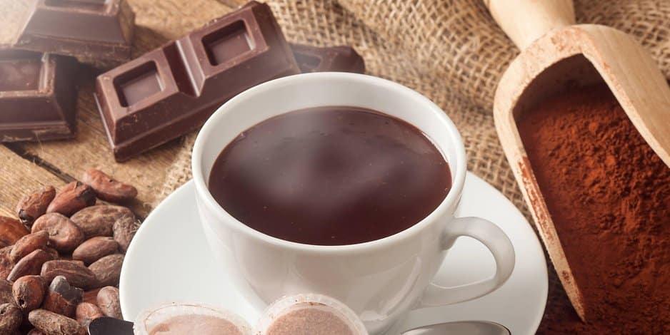 Schokolade als Getränk