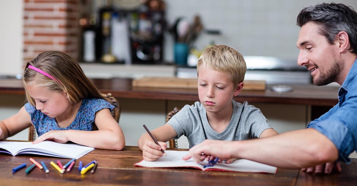 Tipp Nr. 4: Arbeitsaufteilung freier gestalten beim Homeschooling