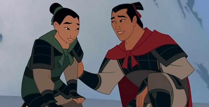 Li Shang (Mulan) möglicherweise bi