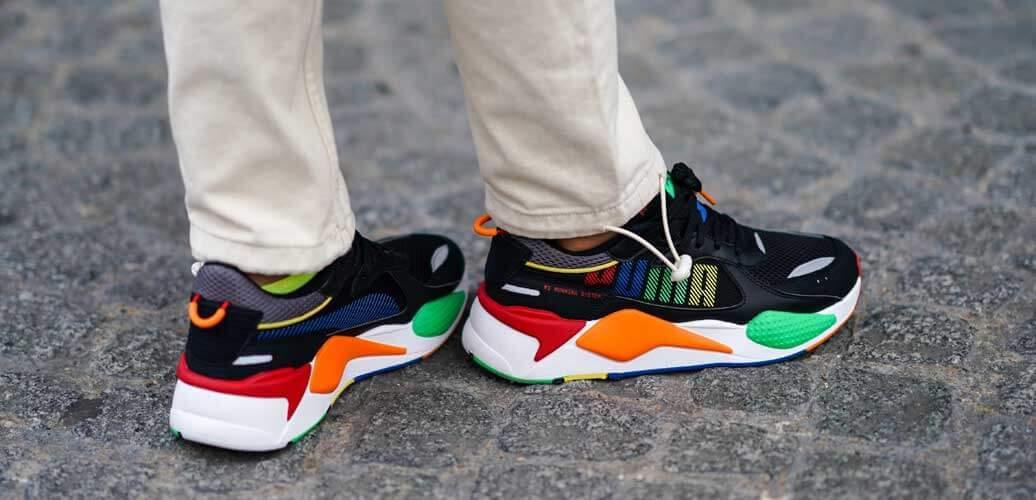 """Sneakers """"aus der Zukunft"""" – grelle Farben und fantasievolle Muster"""