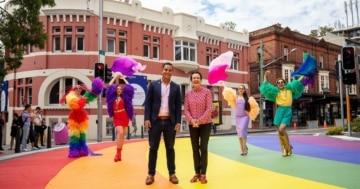 Sydney eröffnet den Regenbogenpfad
