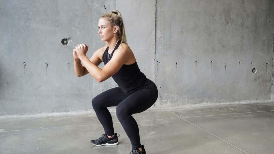 Übung Nr. 1 die Squats