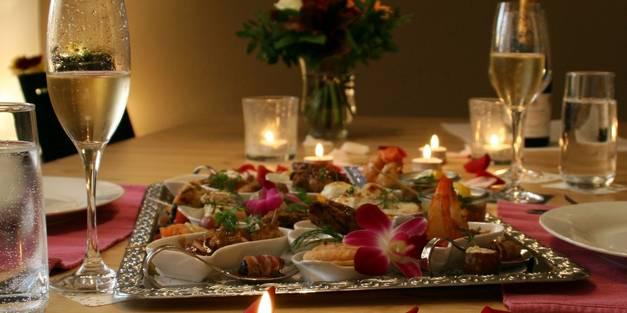 Kulinarische Genüsse zu zweit an Valentinstag